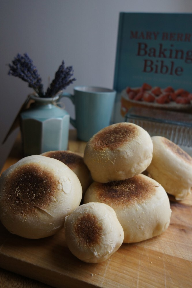 Mary Berry's English Muffins