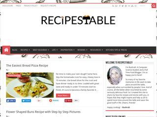 Recipes Table