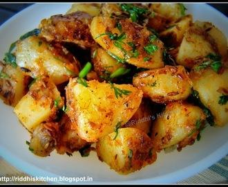Jeera Aloo ( Simple + Quick )