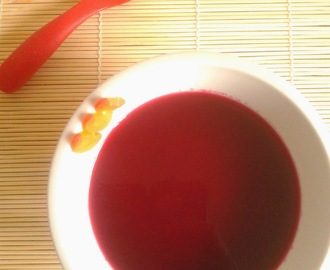 Recipe of Beetroot and Carrot Soup | How to make Beetroot and Carrot Soup