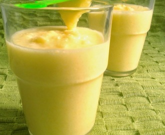 Recipe Of Pineapple Smoothie | How to Make Pineapple Smoothie