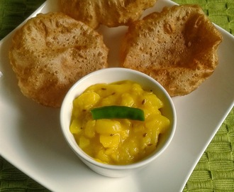 Recipe Of Puri Bhaji | How To Make Poori Bhaji