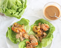 Peanutty Chicken Lettuce Wraps