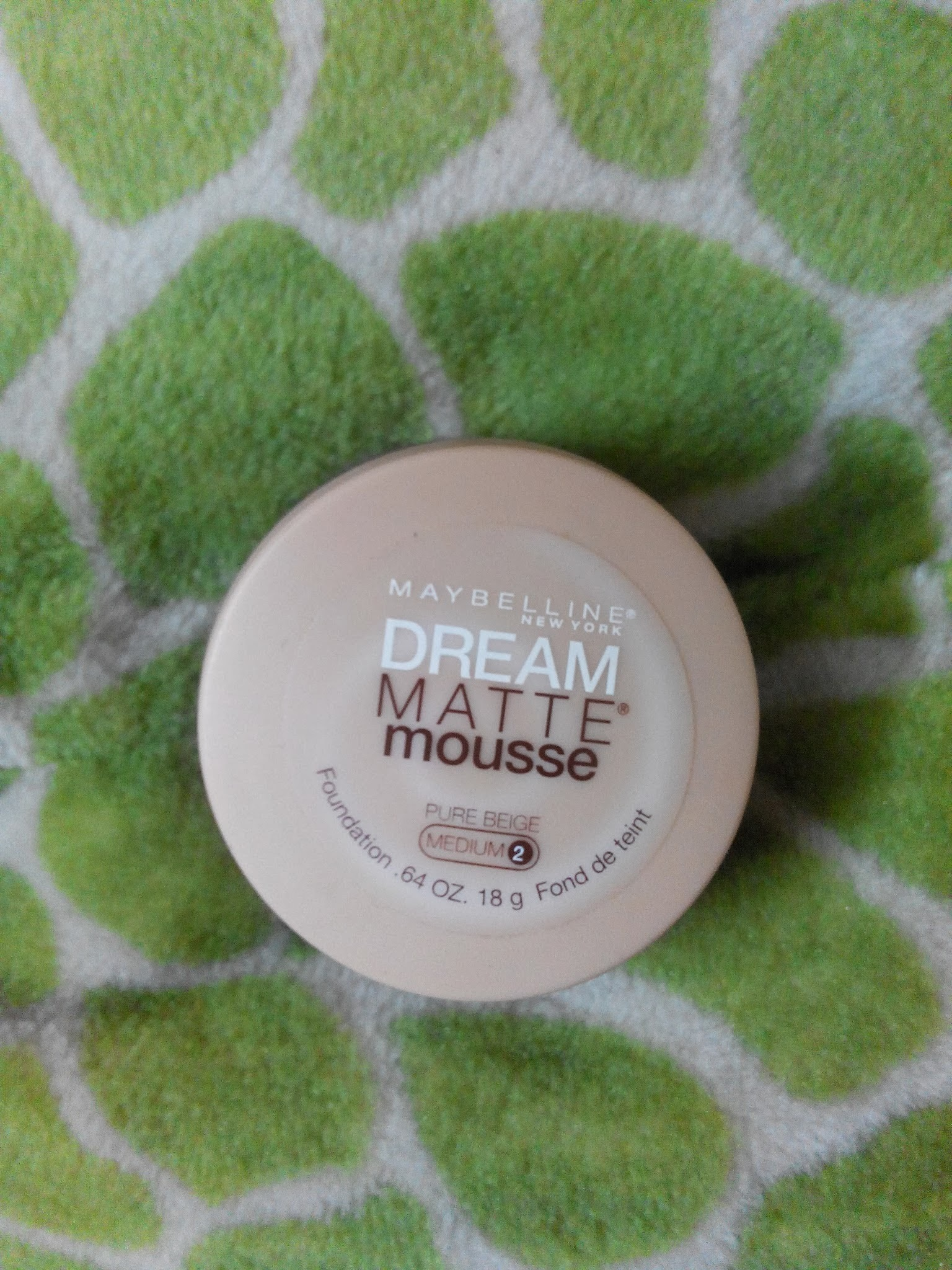 Product Review:Maybelline Dream Matte Mousse Foundation