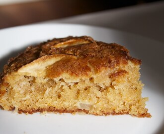 Gluten Free Apple and Carrot Spiced Harvest Cake