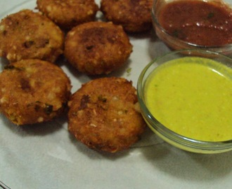 Recipe of Sabudana Vada | How to make Sabudana Aloo Tikki
