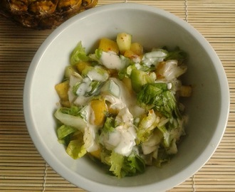 Recipe of Pineapple & Lettuce Salad | How to Make Pineapple & Lettuce Salad