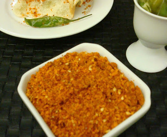 Spicy Garlic Chutney for Vada Pav