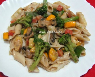 Penne Pasta With Black Pepper Sauce