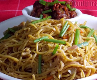 Egg Chow Mein(Fried Noodles)
