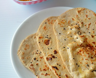 Whole Wheat Naan ( Yeast Free) | Stove Top Wheat flour Naan