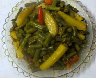 Healthy Side Dish Recipe – French Bean Curry