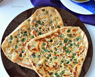 Garlic Butter Multigrain Naan ( Yeasted Naan) | Stove top Multigrain Naan