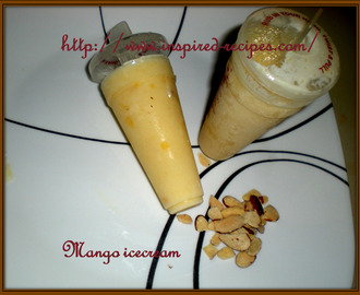 Low Fat Mango Ice Cream