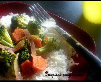 Quick Broccoli and Carrot Stir Fry