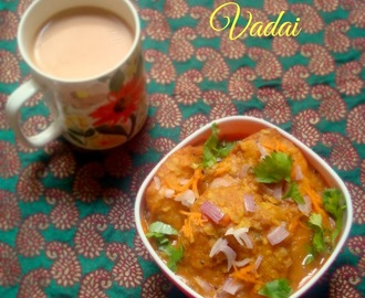 Sambar Vadai | Sambar Vada | South Indian Breakfast Recipe