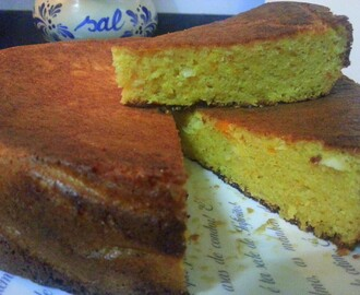Bolo de Laranja e Amêndoas /Orange and Almond Cake