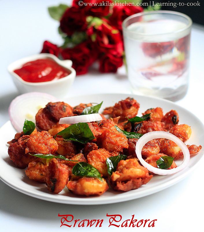 Prawn Pakora | Prawn Pakoda | How to make Prawn Pakora | Prawn Recipes| Sunday Special Recipes