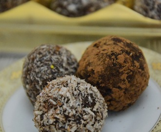 Chocolate And Nut Balls