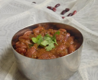 Rajma Masala - How to make Rajma Masala - Kidney beans Masala - Rajma recipes