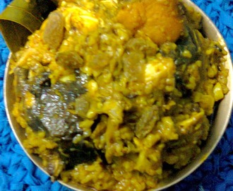 Fish Head Curry With Rice / Murighanto – A Bengal Delicacy