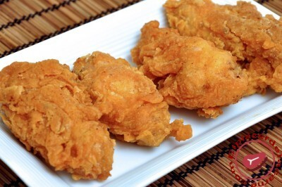 Alitas de pollo al estilo Kentucky Fried Chicken