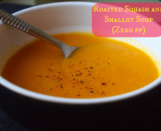 Sunday soup: Roasted squash and shallot
