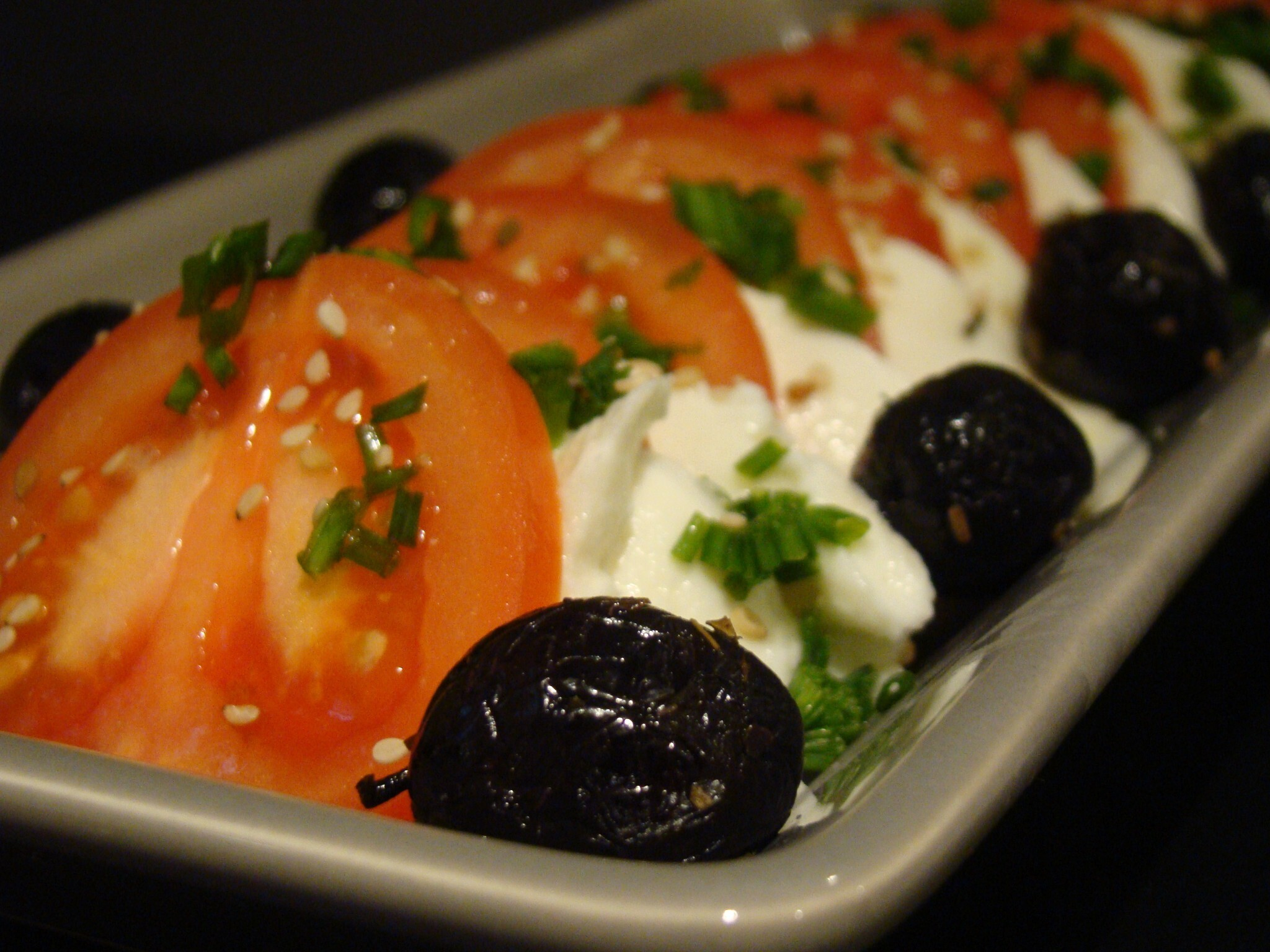 Salada de Tomate e Mozzarella / Tomato and Mozzarella Salad