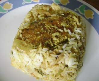 Fish Biryani (Traditional Fare)