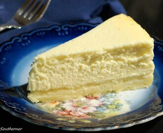 Cheesecake with Shortbread Crust