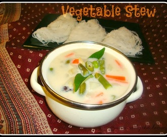 Vegetable Stew / Kerala Style Vegetable Stew / Vegetable Stew (without coconut milk) Recipe Ingredients / Quick & Easy Vegetable Stew Recipe