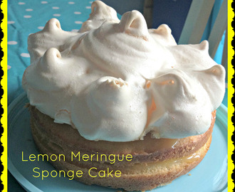 Lemon Meringue Sponge Cake Recipe