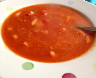 Tomato, Garlic and Pancetta Soup Recipe