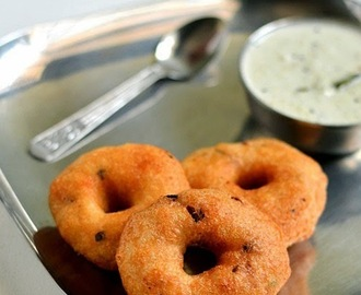 Medhu Vadai Recipe/How to make Urad Dal Vada With Video