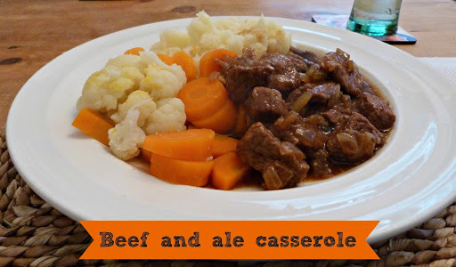 Recipe: Beef and ale casserole