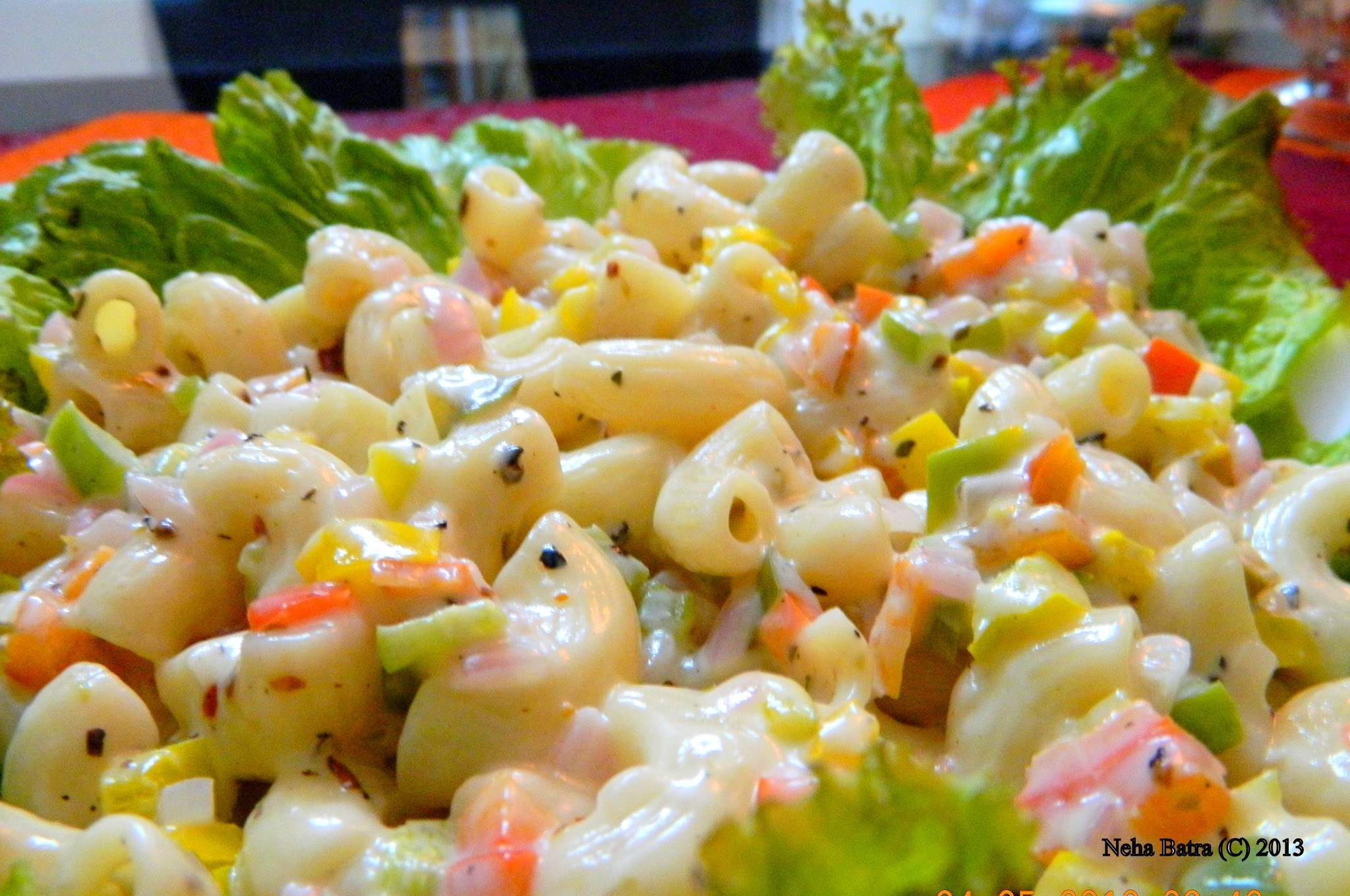 Cold Macaroni Salad