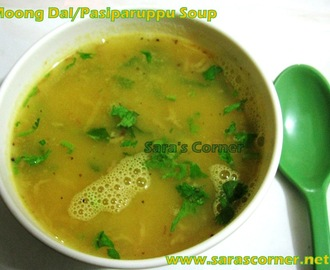 Simple Moong Dal | Pasiparuppu Soup!
