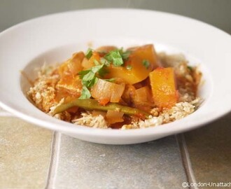 Chicken and Butternut Squash Curry 5:2 Diet Recipe