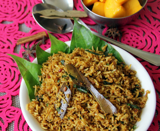 Betal leaves rice - Vetrilai sadham - Healthy lunch recipe - Healthy one pot meal