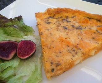 quiche de carbassa