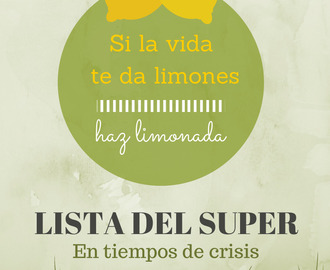 COME SANO SIN AFECTAR TU BOLSILLO: LISTA DEL SUPER SALUDABLE