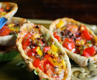 Tomato & Pepper Tartlette