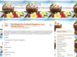 Tropical spicy tadka