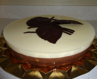 Tarta Tres Chocolates (sin thermomix)