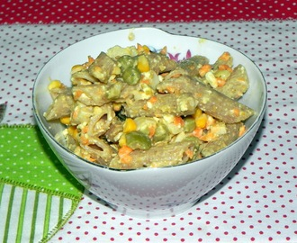 Salada Light de Macarrão Integral