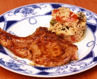 Gordon Ramsay's Honey Mustard Pork chops