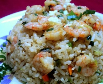 "Chinese style ""Prawn/shrimp fried rice"""