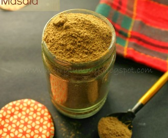 Homemade Chaat Masala, Indian Spice Mix