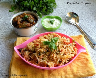 Vegetable Biryani Recipe
