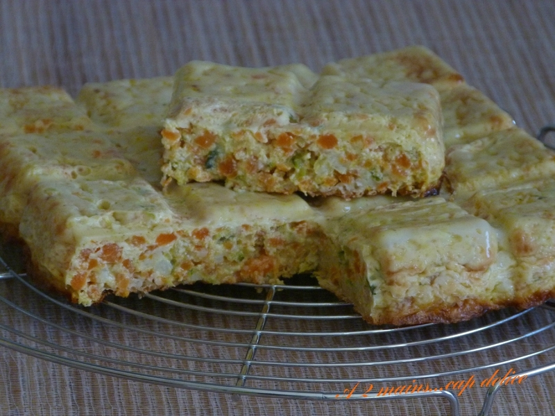 QUICHE TABLETTE AUX LEGUMES